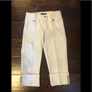 Burberry Bottoms - Girls BURBERRY Cropped Pants